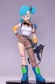 Dragon Ball Z Bulma SCultures Banpresto Figure Colosseum | awww! I want this :3