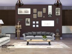 Sims 4 CC's - The Best: Livingroom by Wondymoon