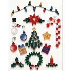 Quilling-Christmas quilling designs