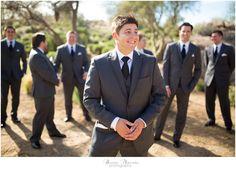 Groomsmen at Troon North wedding in Scottsdale, Arizona