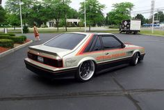 1979 Mustang Indy 500 Pace Car Edition dropped on deep dish 20's