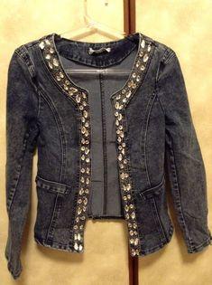 jaquetas customizadas | Jaqueta Jeans Customizada 10%DESCONTO Jaqueta Jeans Customizada 10 ...