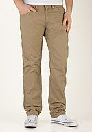 CARHARTT Skill Pant Cortez Chinos, leather rinsed
