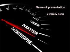 http://www.pptstar.com/powerpoint/template/catastrophe-speedometer/ Catastrophe Speedometer Presentation Template
