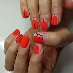 Squoval is a mix between square and oval shape. Bow Nail Designs, Gel Polish Designs, Cute Nail Art Designs, Beautiful Nail Designs, Beautiful Nail Art, Diy Nails, Cute Nails, Nail Shapes Squoval, Friendly Nails