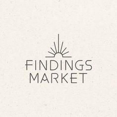 for Findings Market Logo & Symbol for Findings Market& Symbol for Findings Market Logo & Symbol for Findings Market Custom hand written initials logo custom logo by sweetlittlemuse guestbook display Mercat del Ram Logo Design Template, Logo Templates, Logo Branding, Branding Design, Minimal Logo, Minimalistic Logo, Sun Logo, Elegant Logo Design, Yoga Logo