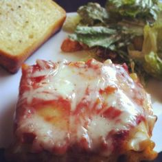 Make and share this Ground Beef and Spinach Lasagna Rollups recipe from Food.com.