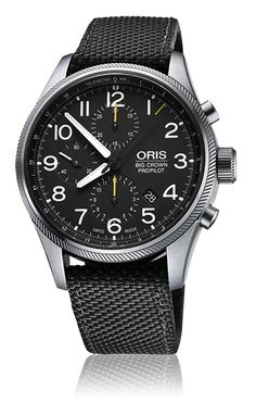 Independent Swiss watch manufacturer, Oris, is delighted to present the latest specialist timepiece to be developed as part of its elite ProPilot range. Embodying the aviation spirit, the new Oris Big Crown ProPilot Chronograph is a modern cockpit watch loaded with indispensable flight worthy features.