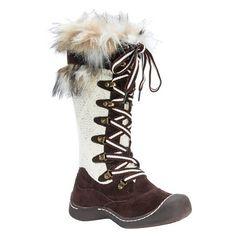 Women's MUK LUKS® Gwen Winter Boots - Chocolate 8 : Target