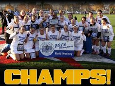 Millersville field hockey won the PSAC Championship!