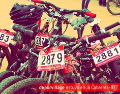 El pasado fin de semana se disputó La #Cabrerès 2013, que logró otra vez la impresionante cifra de 3.000 participantes. Se ha posicionado como una de las pruebas de BTT más importantes de Europa, así como la más multitudinaria de la Península Ibérica. #Deporvillage ha esponsorizado la prueba y hemos sido la tienda oficial.