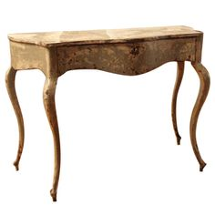 Italian Console with Original Paint from the Piedmont Region | From a unique collection of antique and modern console tables at https://www.1stdibs.com/furniture/tables/console-tables/