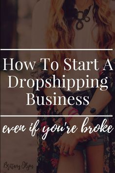 How To Start A Dropshipping Business For Free. Two Ways To Start A Dropship Business Without An Upfront Investment Of Inventory. Start A Boutique Even If You're Broke!
