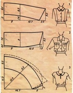 Galina_O - galkaorlo Sewing Lessons, Sewing Hacks, Sewing Tutorials, Pattern Cutting, Pattern Making, Dress Sewing Patterns, Clothing Patterns, Sewing Clothes, Diy Clothes