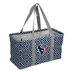 Houston Texans Picnic Caddy Large Collapsible Tote