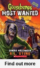 Buy Goosebumps Most Wanted Special Edition: Zombie Halloween by Rl Stine at Mighty Ape NZ. Everyone at Kenny Abbott's new school is going zombie crazy. Kenny's new friend Alec is the most obsessed of all - he believes Zombies are real and m. Halloween Series, Halloween Books, Halloween Zombie, Book 1, The Book, Evil Dead, Humble Bundle, New Kids, Tattoo Ideas