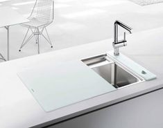 Blanco's crystalline white sink