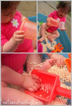 Edible Sensory Play with Cereal.  Visit pinterest.com/arktherapeutic for more #feedingtherapy #sensoryplay ideas