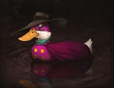 Let's. Get. Dangerous. Darkwing Duck! This is one of the greatest things I have seen in a while.