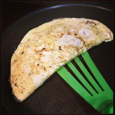 Cenita! Omelette de claras con hongos+ajo porro+calabacin baja en calorias y #lowcarb #cuerpodeplaya #saschtag Photo - Sascha Barboza | Lockerz