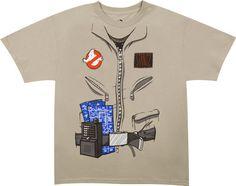 Camiseta Los Cazafantasmas. Uniforme, Ray Stantz