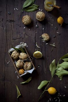 Rustic Macarons made with Lemon Scented Seeds & Filled with Lemon Curd - The Freaky Table