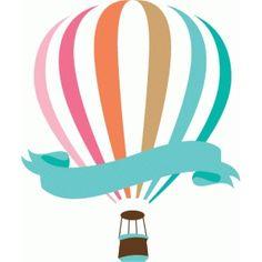 Silhouette Design Store: hot air balloon