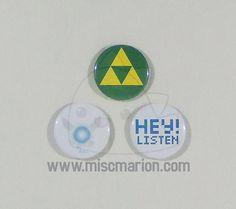 Legend of Zelda boutons aimants ou porte-clés 15 par MiscMarion