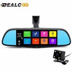 2017 New 7 inch Special Car GPS Navigation Mirror Bluetooth Android 16GB Car DVR Rearview Mirror 1080P Monitor GPS Navigation