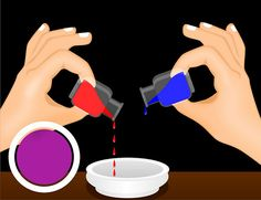 How to Mix Liquid Food Coloring | See more ideas about Frosting