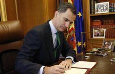 El Rey despeja su agenda a partir del martes para poner en marcha los mecanismos constitucionales