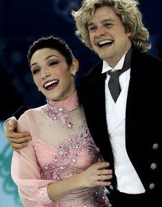 Meryl Davis and Charlie White of U.S. during figure skating team ice dance short dance at the Sochi 2014 Winter Olympics