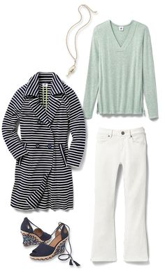 Check out five unique ways to mix and match the Laidback Tee with other cabi items!