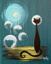 Futuristic - El Gato Gomez Art I so need this for Atomic Moxie