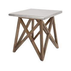 Mast Aluminum Clad Table | IMAX Worldwide Home | Your Leading Supplier for Home and Garden Accessories