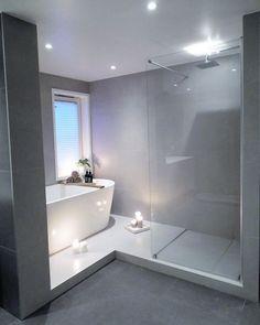 20 Bathroom Designs and Decoration Ideas diy bathroom ideas Bathroom Designs and Decoration Ideas - Wohnaccessoires Master Bathroom Shower, Diy Bathroom Decor, Bathroom Layout, Modern Bathroom Design, Bathroom Interior, Small Bathroom, Bathroom Designs, Bathroom Ideas, Bathtub Ideas