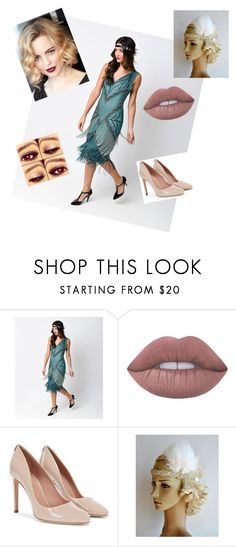 """""""Untitled #417"""" by sodapop-999 ❤ liked on Polyvore featuring Unique Vintage and Lime Crime"""