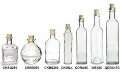 Specialty Bottle - Corked Glass Bottles.  This site has a jars, bottles, tin containers & everything in a wide range for crafters who want to display their crafts fancy.