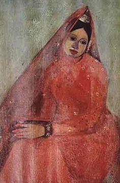 Amrita Sher-Gil   The Bride, 1940