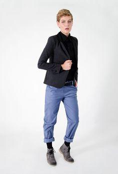 Black and blue. fashion. |