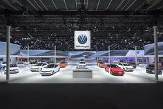 Volkswagen Messeauftritt Auto China 2016 Peking - Lichtgestaltung, Fachplanung Beleuchtung und Rigging, Projektsteuerung - rgb GmbH