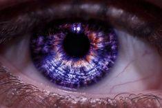 purple eyeshadow looks ; purple eyeshadow for brown eyes ; purple eyeshadow looks step by step ; purple eyeshadow looks for brown eyes Beautiful Eyes Color, Pretty Eyes, Cool Eyes, Eye Color Facts, Rare Eye Colors, Rare Eyes, Yennefer Of Vengerberg, Aesthetic Eyes, Violet Eyes