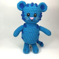 Ravelry: Blue Tiger like Daniel Tiger's Neighborhood Tigey pattern by Allison Hoffman