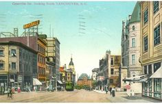 Granville St looking north