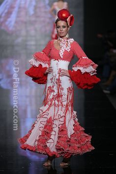 Fotografías Moda Flamenca - Simof 2014 - Alicia Cáceres 'Embrujo del sur' Simof 2014 - Foto 05