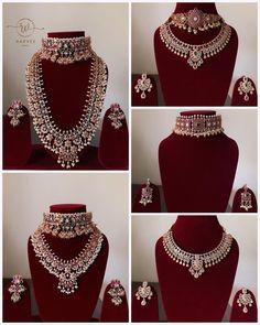 Antique Jewellery Designs, Fancy Jewellery, Indian Jewellery Design, Indian Bridal Jewelry Sets, Indian Wedding Jewelry, Bridal Jewellery, Jewelry Design Earrings, Chanel Purse, Carat Gold