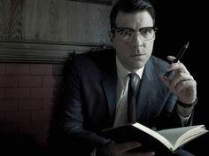 Zachary Quinto en Chad Warwick dans la saison 1 : Murder House