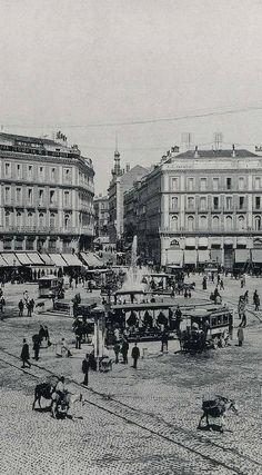 FOTOS ANTIGUAS DE MADRID DE 1850 A 1940