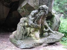 Jiří Franc - Fotoalbum - Z Královéhradeckého kraje - Kuks - Braunův Betlém 2014 11 Sculpture Art, Garden Sculpture, Art Object, Statue, World, Outdoor Decor, Monuments, History, Travel