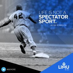 #leadership #motivation #success #quote #quotes #garyraser #garyjraser #jackierobinson #42 #baseball #mlb #sports  #bemore